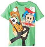 Paul Frank Boys 2-7 Sports Tee, Grass Green, 5