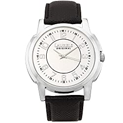 Laurels Exquisite Analog Silver Dial Mens Watch ( Lo-Ex-103)
