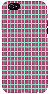 Snoogg chequered pattern design 1364 Case Cover For Apple Iphone 6 iphone 6