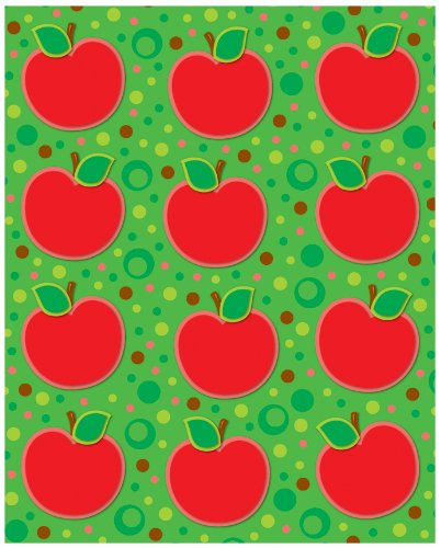 Carson Dellosa Apples Shape Stickers (168030)