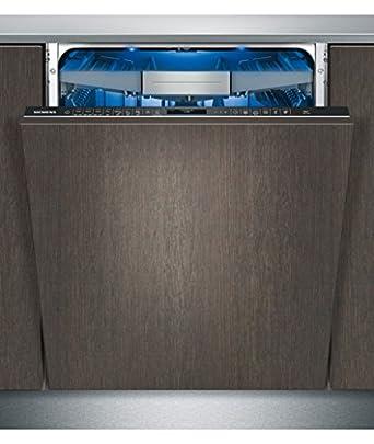 Siemens SN678D02TE lave-vaisselle - laves-vaisselles (Entièrement intégré, A, A+++, Noir, toucher, A)