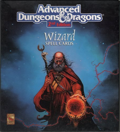 Deck Of Wizard Spells (Advanced Dungeons And Dragons: The Official Dungeon Master Decks)