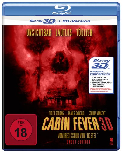 Cabin Fever (Uncut Edition) [3D Blu-ray + 2D Version]