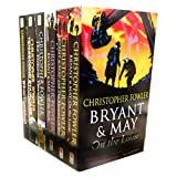Christopher Fowler Christopher Fowler 6 Books Set Collection PacK Set RRP 47.94 (White Corridor, Ten-Second Staircase, Bryant & May Investigate The Victoria Vanishes, Bryant & May Off The Rails, Bryant & May and the Memory of Blood, Bryan & May On the Lo