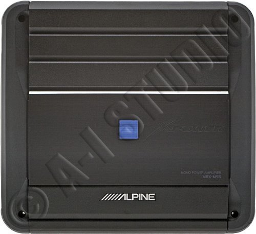 Mrx-M55 - Alpine Monoblock 350W Rms Power Digital Amplifier