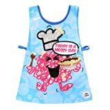 Mr Messy Tabard Kids Apron Mr Men Design Childrens Wipeable