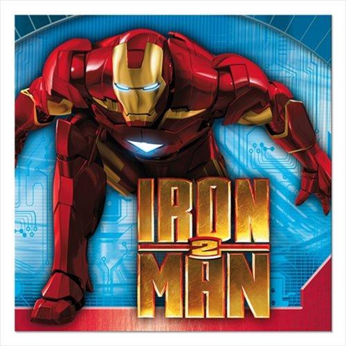 Iron Man '2' Small Napkins (16ct)