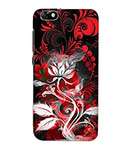ColourCraft Floral Design Back Case Cover for HUAWEI HONOR 4X