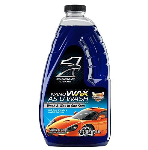 Eagle One 836605 Nano Wax-As-U-Wash, 64 fl. oz. (Eagle One Car Care Products compare prices)
