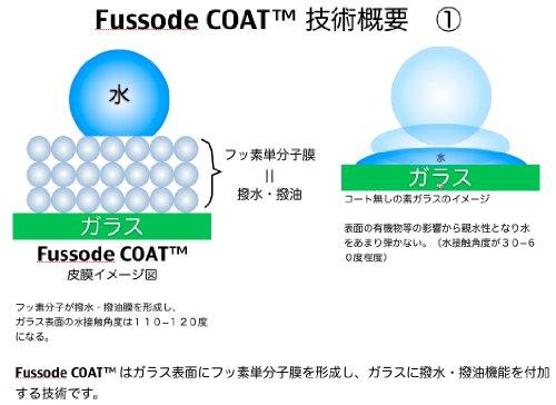 スマートフォン用耐指紋性撥油コーティング Fusso SmartPhone