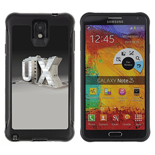 Zfresh Rugged Protective Case Cover - Ux - Samsung Note 3