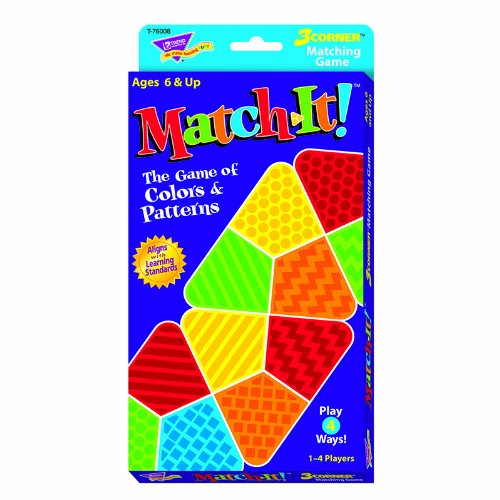 Match-It! 3-Corner Matching Game Learning Game