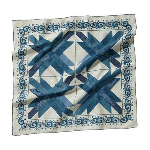 スコッチアンドソーダ SCOTCH&SODA メンズ バンダナ Amsterdams Blauw of bandana's 77192 A_2