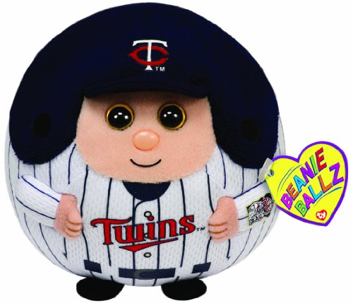 Ty Beanie Ballz MLB Minnesota Twins Plush