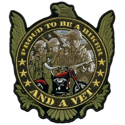 PROUD TO BE A BIKER AND A VET 9