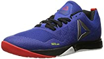 Reebok Men's Crossfit Nano 6.0 Cross-Trainer Shoe, Team Dark Royal/Black/White/Riot Red/Pewter, 7.5 M US