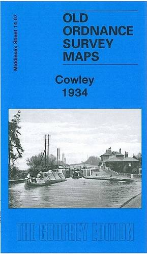 Cowley 1934: Middlesex Sheet 14.07 (Old Ordnance Survey Maps of Middlesex)