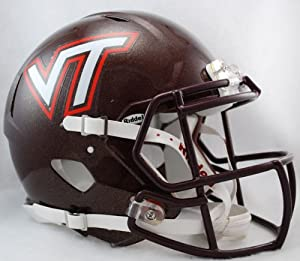 Buy NCAA Riddell Virginia Tech Hokies Speed Full-Size Authentic Helmet by Riddell