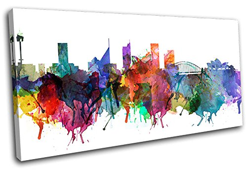 bold-bloc-design-sydney-watercolour-abstract-city-120x60cm-canvas-art-print-box-framed-picture-wall-