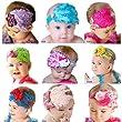 9Stk. Baby Feder Blumen Kopfbedeckungen Stirnband