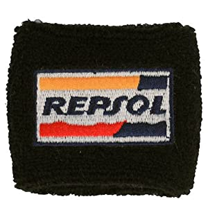 Repsol Honda Clutch Reservoir Sock Cover Available in Black and Orange, Fits CBR, 600, 1000, 600RR, 1000RR, 954, 929, RC51