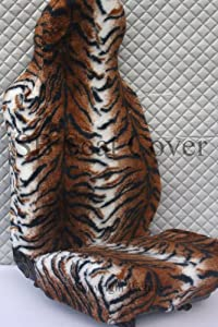 MAZDA BONGO Car Seat Covers - Brown Tiger Faux Fur- (5 Seats Only)