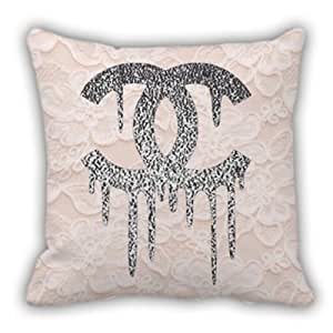 Chanel Leather Throw Pillow : Amazon.com - Beautiful Chanel Glitter Throw Pillow Cover