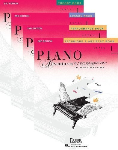 Faber Piano Adventures Level 1 Learning Library Pack - Lesson, Theory, Performance, and Technique & Artistry Books (Piano Adventures Level 1 compare prices)