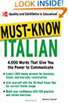Must-Know Italian: 4,000 Words That G...