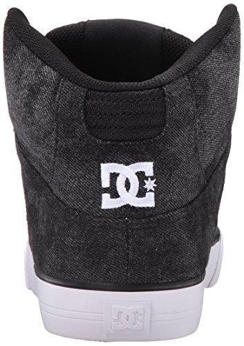DC Men's Spartan High WC TX SE Skate Shoe, Black Acid, 9 M US