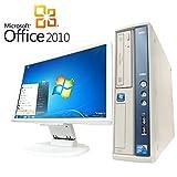【Microsoft Office2010搭載】【Win7 搭載】【液晶セット】NEC MA-C/新世代Core 2 Duo 2.93GHz/メモリ4GB/HDD500GB/DVDスーパーマルチ/中古デスクトップパソコン