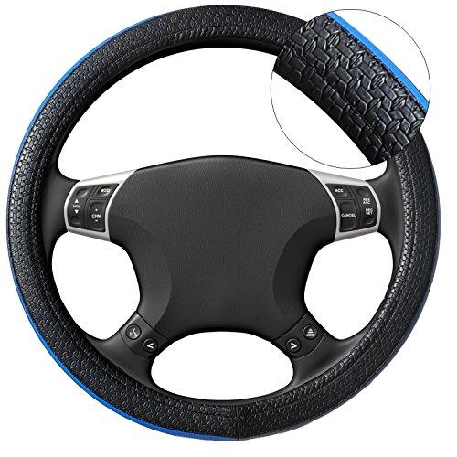 Akhan lb06 housse de volant housse de volant noir bleu for Housse volant