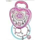 Pecoware Little Dancer Charming Charm Necklace & Bracelet Set