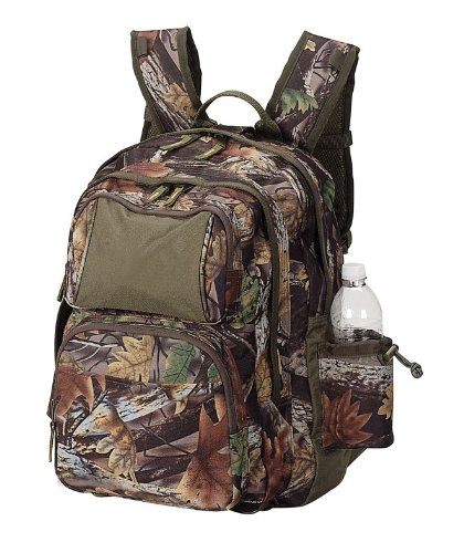 Hiking Camping Outdoor Activities Camo Backpack Bag