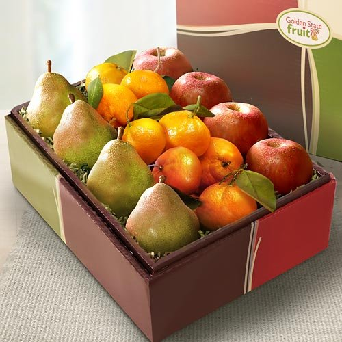 California Trio Fruit Gift Box