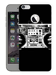 """Humor Gang Radio Music Love Printed Designer Mobile Back Cover For """"Apple Iphone 6 - 6s"""" (3D, Matte, Premium Quality Snap On Case)"""