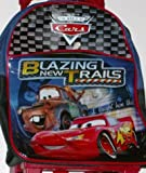 Mini Disney Cars Rolling Backpack Travel Daypack Pack