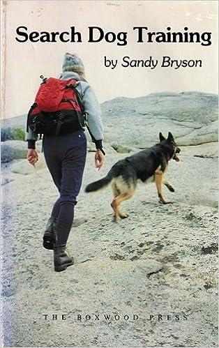 Search dog training sandy bryson