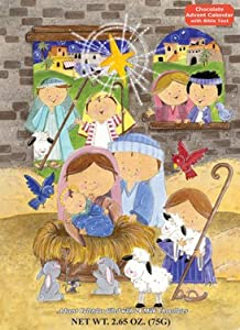 Smiling Shepherds Chocolate Advent Calendar & Nativity Story