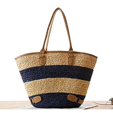 Fairysan women ladies designer straw woven for Designer beach bags and totes