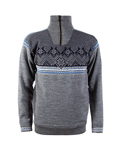 Dale-of-Norway-Herren-Pullover-Glittertind-Masculine-Sweater-WP-SmokeCobaltNavyLight-Charcoal-L-92881-T