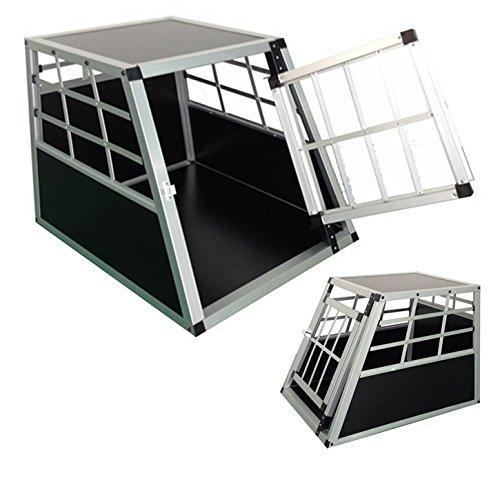 Hundebox-ALU-Transportbox-Alubox-Box-Hundetransportbox-Reisebox-Gitterbox-DOG03