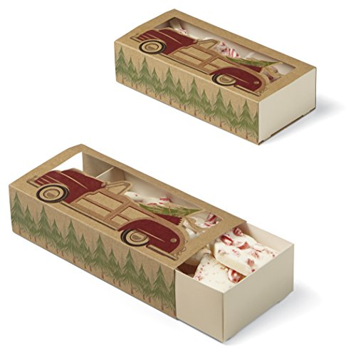 Wilton Industries 415-2683 3 Count Christmas Holiday Sweet Swap Sliding Treat Boxes