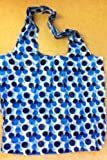 Polka Dot Clipbag 3 asstd Colours Fold Up Bag to carry in your Pocket (1 One Random colour sent)