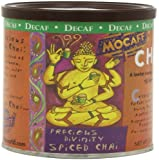 MOCAFE Precious Divinity Decaf Spiced Chai Tea Mix, 12-Ounce Canisters (Pack of 4)