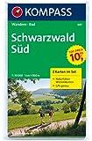 Schwarzwald Süd: Wanderkarten-Set mit Naturführer in der Schutzhülle. GPS-genau. 1:50000 (KOMPASS-Wanderkarten)