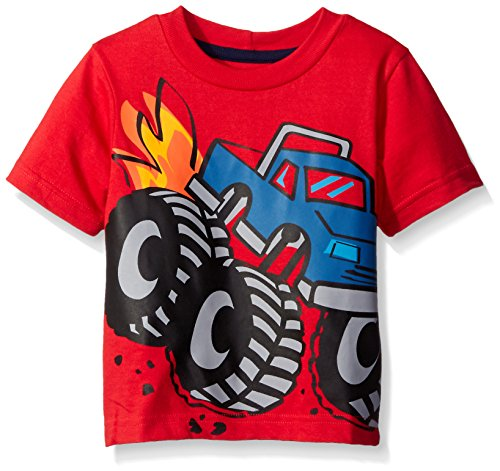 Gerber Graduates Boys Short Sleeve T-Shirt, Monster Truck, 2T (Monster Trucks For Toddlers compare prices)