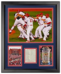 Art of Hollywood, 2011 St. Louis Cardinals Team Framed Photo Presentation - 18 x 22... by Art of Hollywood
