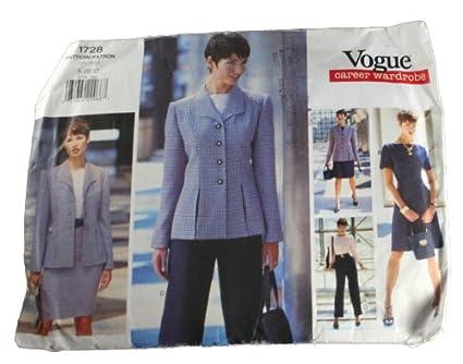 Vogue 1728 Sewing Pattern