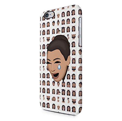 Kim Kardashian Cry Emoji iPhone 6, 6s Hard Plastic Case Cover